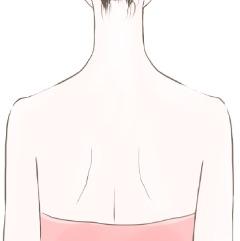 肩、背中のツボ